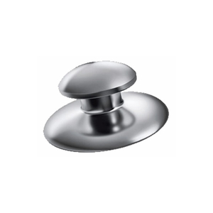 GrinA+ Stainless Steel Weldable Lingual Button(Round Base)